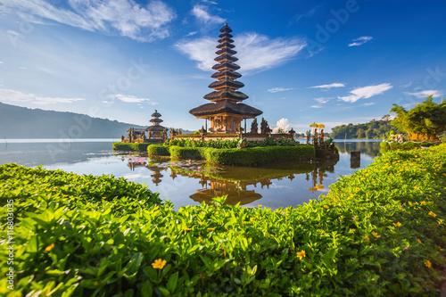 Foto op Plexiglas Temple Pura Ulun Danu Bratan, or Pura Beratan Temple, Bali island, Indo