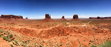 Monument Valley Panoramic View, USA