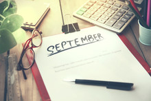 September On Notepad