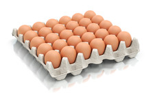 Thirty Eggs In A Carton Package