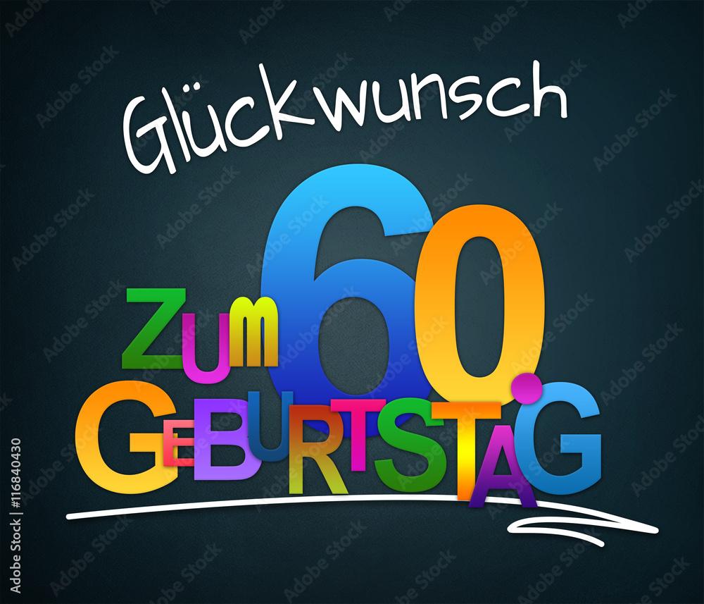 Gamesageddon Stock Glückwunsch Zum 60 Geburtstag