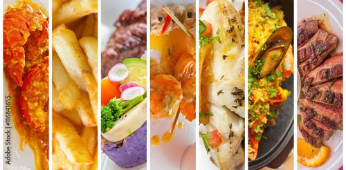 Poster Klaar gerecht plats cuisinés