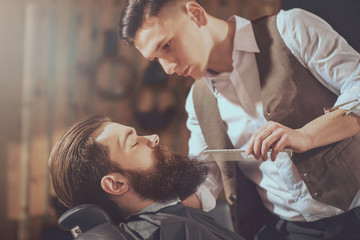 Modern hairstyle industry