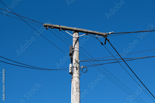 Outstanding Rotting Old Wooden Telegraph Post Or Telephone Or Power Pole Wiring Digital Resources Funapmognl