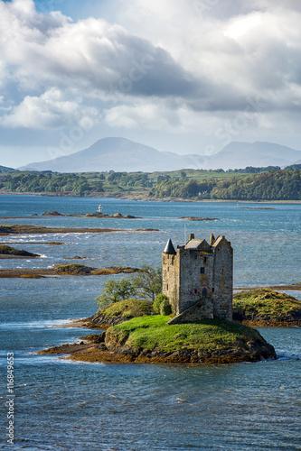 Keuken foto achterwand Noord Europa Stalker Castle, Loch Linnhe, Appin, Scotland.