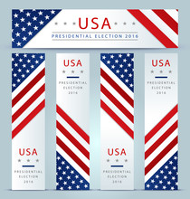 Presidential Election Banner B...