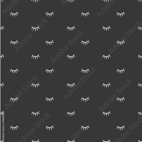 500_F_116865887_2EZikqF5Lk93gOH70a037VoVJY7vqpAj hand drawn seamless pattern with close eyes wrapping paper