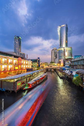 Foto op Plexiglas Texas Cityscapes view of department stores in Bangkok City , Captital