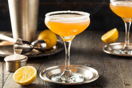 Fotografie, Obraz  Refreshing Boozy Sidecar Cocktail