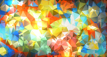 Vibrant Abstract Background Illustration