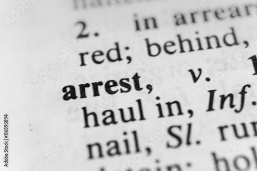 Fotografie, Obraz  Arrest