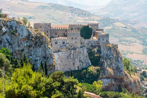 Caccamo medieval castle, near Palermo, Sicily