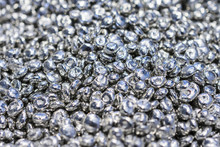 Polished And Pure Zinc Granules.