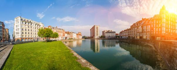 Quai du Wault in Lille France