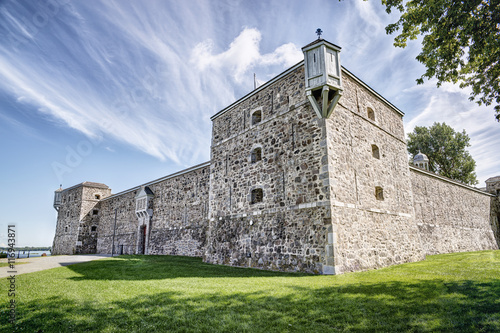 Foto auf Leinwand Befestigung Fort Chambly, a national historic site in Quebec, Canada.