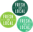 Fresh and Local Product Stamps