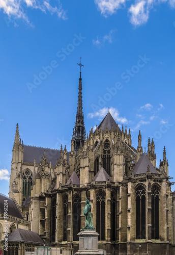 Papiers peints Con. ancienne Amiens Cathedral, France