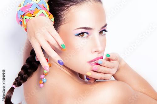 Foto op Plexiglas Beauty summer beauty portrait