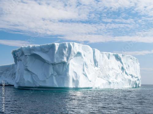 Deurstickers Antarctica Large iceberg in June run aground near St. Anthony's Newfoundland