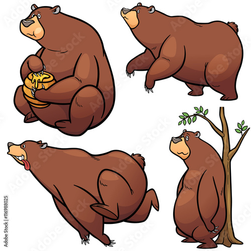 Bear free vector download 556 Free vector for commercial