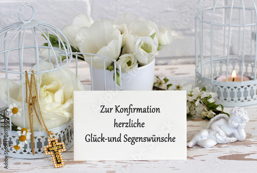 Glückwünsche Zur Konfirmation Buy This Stock Photo And Explore