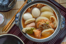 Oden Is A Japanese Winter Dish...