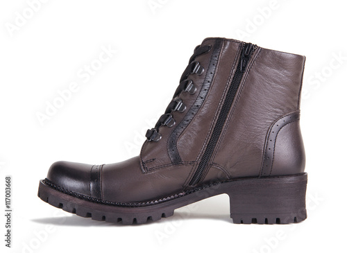 5ccc88a917 all-weather shoes isolated on a white background - Buy this stock ...