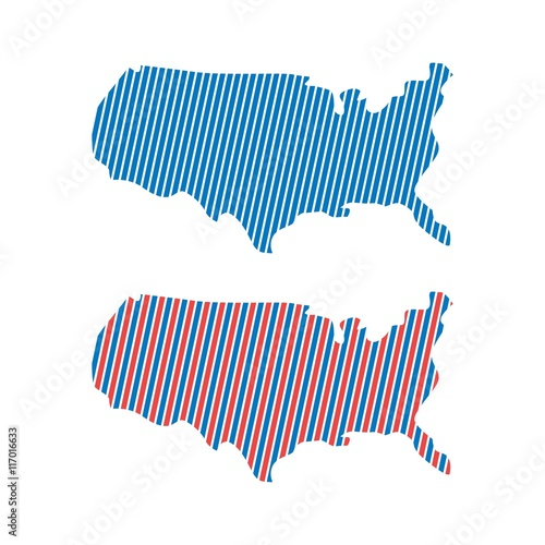 US logo, US icon, US symbol, USA map vector, US MAP VECTOR, UNITED ...