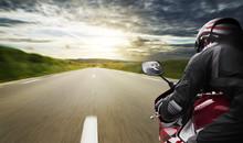 Fast Motorbike POV