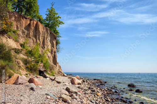 Fototapeta Orlowo Cliff in Gdynia at Baltic Sea obraz