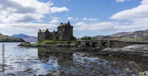 Obraz na płótnie Eilean Donan Castle in Schottland
