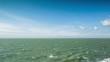 beautiful calm sea in the mediterranean
