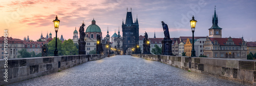 Photo  Karlsbrücke in Prag Tschechien