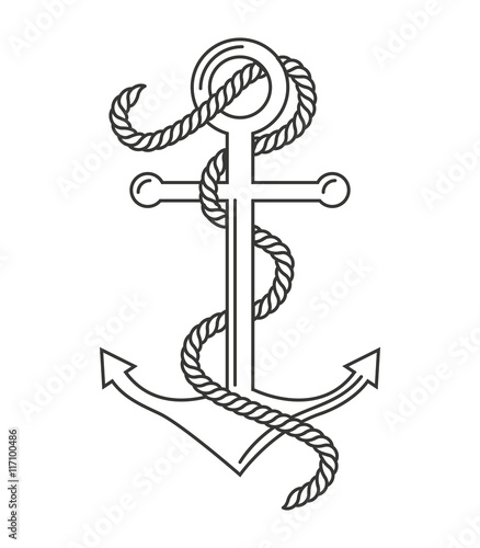 Marine Symbol Drawing