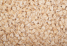 Surface Coated With Oatmeal Flakes