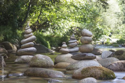 Fotografie, Obraz  Pierre en équilibre