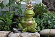 Decorative Frog In The Garden