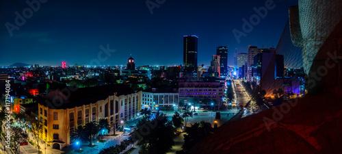 Fotografie, Obraz  Downtown Mexico City skyline