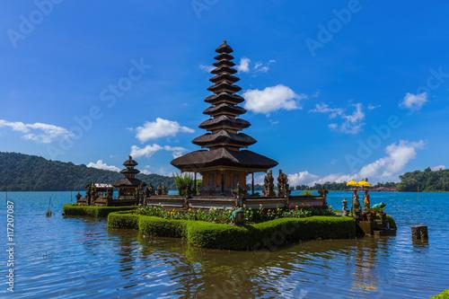 Tuinposter Bali Ulun Danu Temple - Bali Island Indonesia