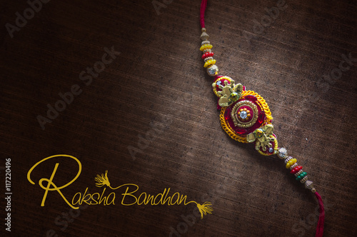 Raakhi A Traditional Indian Wrist Band Which Is A Symbol Of Love