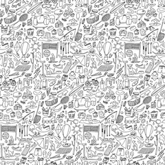 Doodle rest seamless