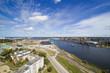 Ventspils city, Latvia.