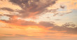 Beautiful sky in sunrise time