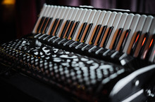 Details Of An Old Accordion