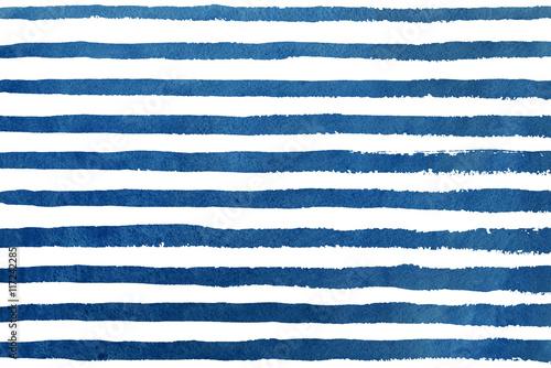 akwarela-ciemny-niebieski-pasek-wzor-grunge