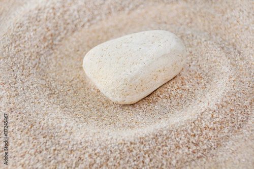 Acrylic Prints Stones in Sand Stone and sand