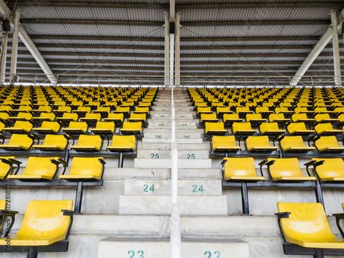 Foto op Plexiglas Stadion empty seats