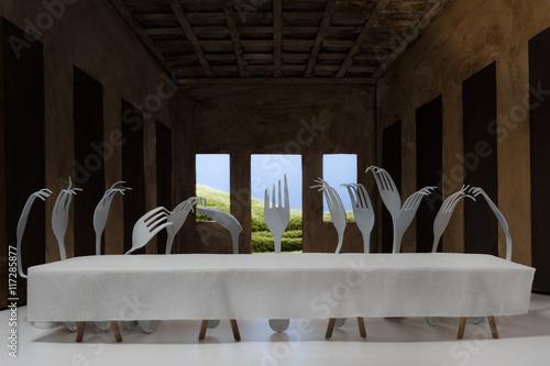 Slika na platnu The Last Supper