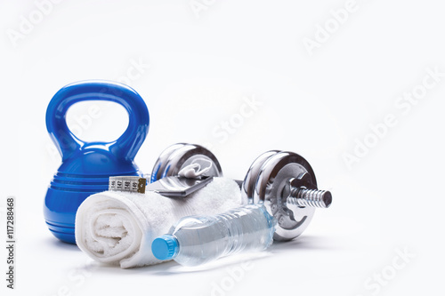 Fotomural  Fitness Equipment