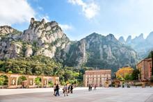 Montserrat Monastery In Barcel...